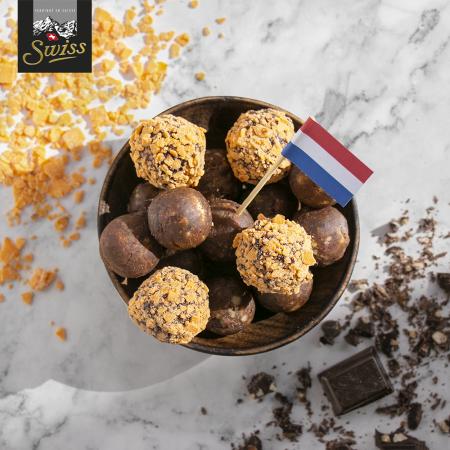 Swiss chocoladeballetjes