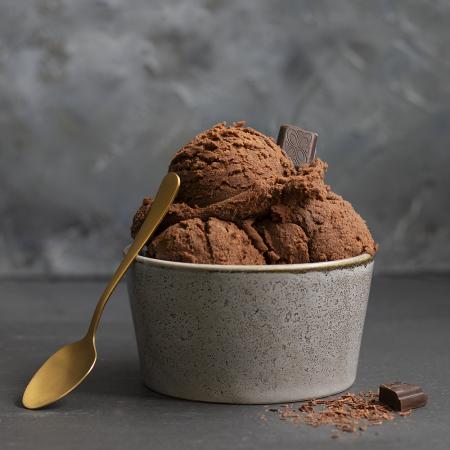 Swiss chocolade ijs