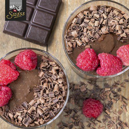 Pure chocolademousse á la Swiss